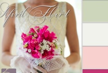 PANACEAflowery color palettes / by Corinne Smith
