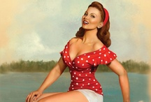 Vintage Pin-up Style