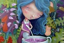 My illustrations - Mis ilustraciones / by Miguel Ángel Bethencourt illustrator