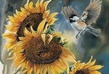 Art: Botanical / art & illustrations of flowers, leaves, trees and everything botanical