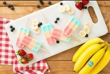 Cool Treats / Refreshing recipes with Chiquita products