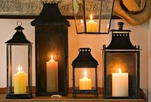 Lights, Lanterns and Candles / by Tonille Peters