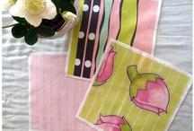 Floating Lemons Fabric / Original art, illustrations and designs by Floating Lemons on fabric and wallpaper collections.