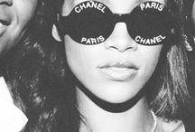 RiRi / Rihanna's style. Love.