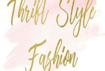 {Thrift Style Fashion} / Fashion inspiration that consists of AMAZING, STYLISH, CHIC, TRENDY and FASHIONABLE but incorporating THRIFTED pieces.