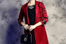 2015 women new autumn winter coat and trench