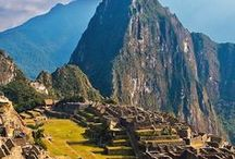 South American | Peru / Traveling tip for the adventurer headed to Peru, South America. From Machu Picchu to Lima to navigating the cuisine, this board covers it all.