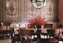 the dining room / CLOTH & KIND // Curated interior design with history and heart, with story and substance // Krista Nye Nicholas and Tami Ramsay @tamiramsay