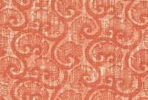 the textile files // orange