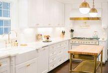 White Kitchens / by Jordana - White Cabana