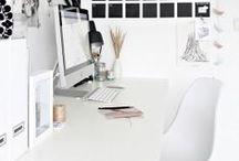 White Office / by Jordana - White Cabana