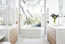 White Bathrooms / by Jordana - White Cabana