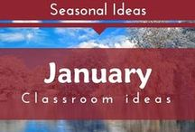 Seasonal- January (Winter and Snowman Preschool and Kindergarten Themes)