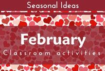 Seasonal- February (Hearts and Valentine Preschool and Kindergarten Themes)