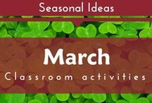 Seasonal- March (St. Patrick's Day and Rainbows Preschool and Kindergarten Themes)