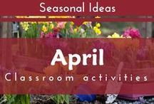 Seasonal- April (Spring, Earth Day Preschool and Kindergarten Themes)