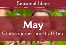 Seasonal- May (Spring, Mother's Day Preschool and Kindergarten Themes)