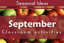 Seasonal- September (Apples, Farm Preschool and Kindergarten Themes)