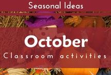 Seasonal- October (Fall, Pumpkins, Halloween Preschool and Kindergarten Themes)