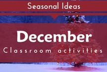 Seasonal- December (Winter Holidays and Christmas Preschool and Kindergarten Themes)