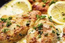 Chicken Recipes / Roast chicken, lemon chicken, chicken in sauces, and more