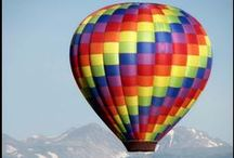 Up Up and Away - Hot Air Balloons / by Cher