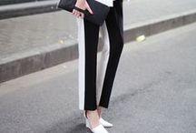 "Fashion ""minimal&monochromo"" / ..."
