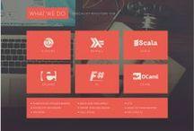 Web Design - Interface / by Captain bella