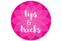 Tips and Tricks We Love / Infographics and information that keep us informed!