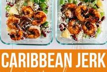 Meal Prep Shrimp, Salmon, Cod Fish Recipes / Shrimp, salmon, fish meal prep for the week! Plan simple and healthy clean eating shrimp and salmon meal prep recipes, tips & ideas for beginners on a budget. Meal prep shrimp and salmon lunch and dinner bowls. Keto, low carb, Whole 30, 21 day fix for weight loss.