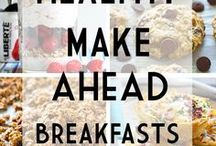 Meal Prep Breakfast Recipes / Breakfast meal prep for the week! Plan simple and healthy clean eating breakfast meal prep recipes, tips & ideas for beginners on a budget. Meal prep breakfast lunch and  bowls and burritos. Keto, low carb, Whole 30, 21 day fix.