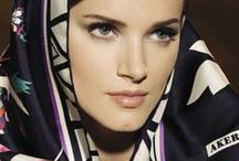 Как повязать платок,шарфик