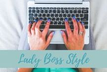 "Lady Boss Style / ""Style is very personal. It has nothing to do with fashion. Fashion is over quickly. Style is forever."" ~Ralph Lauren"