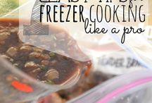 Food- Freezer meals / Healthy homemade frozen meals / by Jane Wilkinson Tosetti
