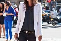 how to wear a blazer / We don't love suits but a nice blazer goes a long way in a woman's wardrobe