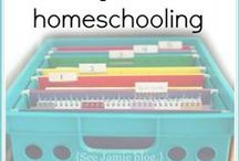 Homeschool Organization - Home & School / Homeschool and organized home. BOTH part of our journey. Ideas and inspiration for homeschool organization. And because homeschool is about organizing our home and homeschool these ideas will inspire you to keep it organized while you savor the homeschool journey. Don't forget to follow my blog too: http://www.tinasdynamichomeschoolplus.com/