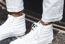 Spring 2016 White Fashion Sneakers / Spring 2016 White Fashion Sneakers / by Roz Pactor