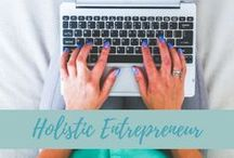 Holistic Entrepreneur / A holistic entrepreneur aligns their business with a sense of purpose and meaning whether working in the health, wellness, personal development, education, or creative fields. They feel the calling of their soul to make a positive difference, to find solutions to the challenges that we're facing in the world today.
