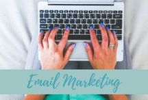 "Email Marketing / In case you haven't heard, ""the money is in the list."" Email is the single best way to stay in touch with your potential clients."