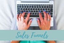 Sales Funnels / Your sales funnel begins with discovery (the top of the funnel) and continues through low-cost offers, right down to your high-end VIP program.