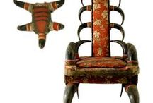 Horn & Antler Furniture / Things made from horn and antler