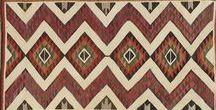 Navajo Blankets & Rugs / Navajo legend credits a deity named Spider Woman with teaching them weaving. Native American Weavings & Rugs