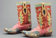 Western Cowboy Boots / great vintage cowboy boots
