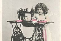 Vintage Images ~ Sewing