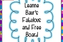 Fabulous and Free / by LeanneBaurs CreativeClassroom