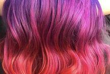 Cabelos diferentões / Penteados, cores, tendências, tipos de cabelos e suas donas maravilhosas.