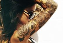Tattoos / Piercings / by Christine Rose Stanley