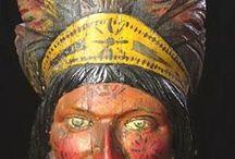 Vintage Advertising / graphic inspiration, cigar indians, memorabilia, ephemera,
