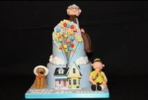 Cake Film - Pixar / novelty cakes based cake on the theme of  based on films made by pixar