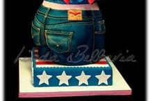 Cake Clothing / novelty cakes based cake on the theme of clothing all forms, if your looking for shoes or boot cakes look for cake footware board